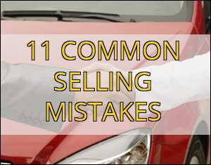 11 common mistakes when selling your car